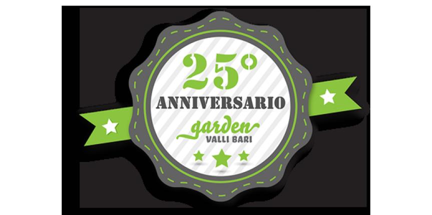 Promozione Anniversario Garden Valli Bari