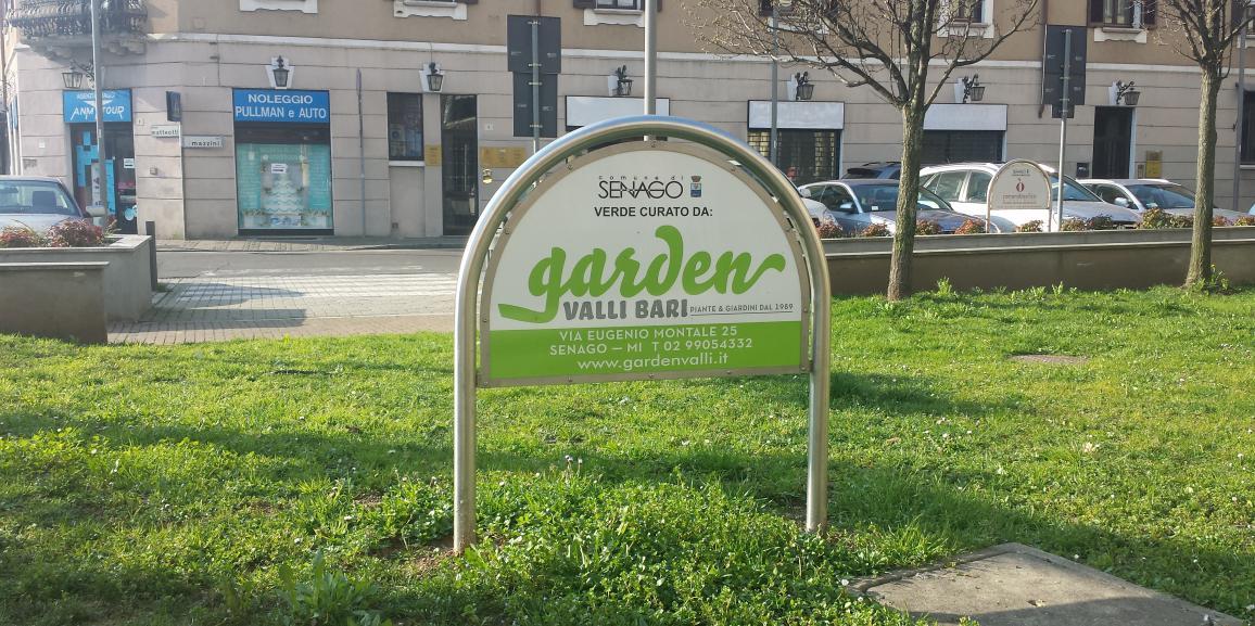 Sponsorizzazione area verde comunale